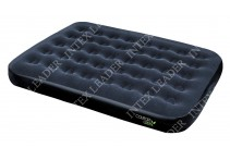 67380 Bestway Надувной матрас Comfort Green Flocked Air Bed(Double) 191х137х22 см